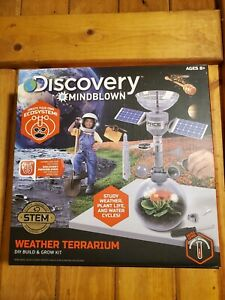 Discovery Mindblown Weather Terrariuum. New Sealed Free Ship