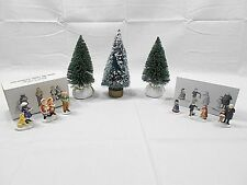 Department 56, Snow Village And Heritage Village, Figures, Trees