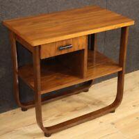 Tavolino mobile in legno tavolo di design moderno vintage da salotto 900