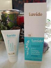 ~BNIB~ Lavido 2-in-1 Purifying Facial Mask & Exfoliator 1.69 oz 50ml Full Sz