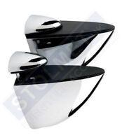 2xAdjustable Glass Wood Acrylic Clamp Shelf Support Brackets Nickel Chrome S M L