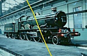 CASTLE CLASS 4073 at Old Oak Common c1964 Railway Slide GM39