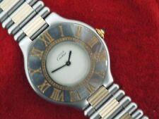 Ladies Must de Cartier 21 Bracelet Watch.