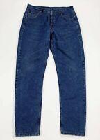 Avirex jeans uomo usato felpati imbottiti W36 tg 50 invernali boyfriend T6202