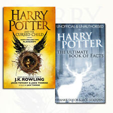 Harry Potter The Cursed Child, Ultimate Book of Facts Collection 2 Books Set NEW