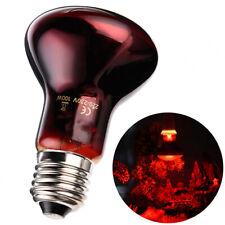 Reptile Infrared Breeding Light Bulb E27 Heater Light Lamp For Bearded Dragon