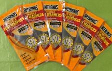 HOTHANDS INSOLE FOOT WARMERS w/Adhesive 9 Hours 6 Pairs Packs EXP 6/2023 🔥