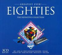 EIGHTIES - GREATEST EVER - RICK ASTLEY, CHER, KISS, IGGY POP, THE JAM 3 CD NEU