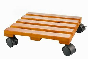 HOME DEPOT Rolling Wood Lattice Caddy Dolly