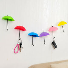3PCS Umbrella Key Holder Hanger Storage Wall Hook Organizer Mount Home Decor