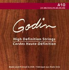 Godin cordes pour/strings for Godin a10