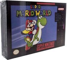 Super Mario World Luminart - Box Light Wall Art by PaladOne Nintendo SNES