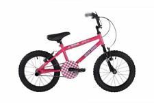 "New Bumper Stunt Rider Pink Kids Girls Bike Bicycle 16"" Wheel 8.5"" Frame EM1719"