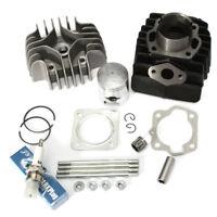 Cylinder Barrel Head Piston Ring Gasket Kit For Suzuki Quadrunner LT50 1984-1987