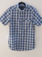 Fantastic CRAGHOPPERS Men's Blue Short Sleeve Check Shirt size S / 36-38""