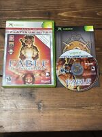 Fable: The Lost Chapters (Platinum Hits) (Microsoft Xbox, 2005)- Complete