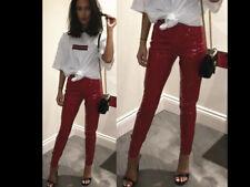 Womens Wet Look PVC Dress Ladies High Waist Vinyl Leather Lingerie PU Shinny LBD