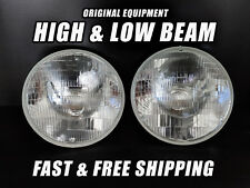 OE Front Halogen Headlight Bulb for Hummer H1 1992-2006 Low & High Beam Set of 2
