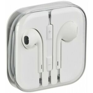Auriculares Original 100% Apple MD827 Jack 3.5mm iPhone Earpods 5S SE 6 6S iPad