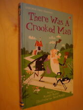 Usborne First Reading 2 there was a crooked man NEUF Illustré Comptine anglaise