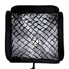 "Softbox + Honeycomb Grid For SpeedLight Flash Speedlite Soft box 80x80cm 32""x32"""
