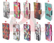 Funda LG Optimus L3 II (E430) Cuero Libro Soporte DIBUJOS