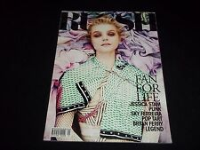 2011 APRIL-MAY RUSSH MAGAZINE - JESSICA STAM - FAN FOR LIFE - F 4447