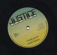 Delroy Wilson / I Roy – Come Back Darling / Put It On ORIG UK 12' EX JUSTICE