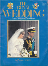 THE ROYAL WEDDING Prince Charles and Lady Diana, Official Pictures UK - Romance
