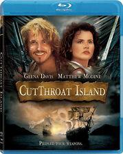 Cutthroat Island . Die Piratenbraut . Geena Davis Matthew Modine . Blu-ray . NEU