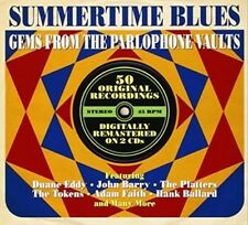 Various Artists - Summertime Blues Gems from the Parlophone Vaults 2 CD'S AS NEW