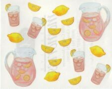 NEW Creative Memories BLOCK STICKER - Pink Lemonade, Lemon Slices, Punch