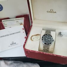 Omega Seamaster Professional 200m Box Papers Tag Top Condition Upgrade Movement