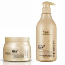 Loreal Professional Absolute Repair Lipidium Shampoo 250 ml + Mask -196 gm