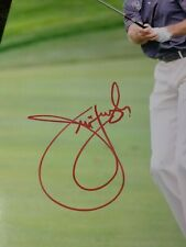 Jim Furyk PGA Tour Player Golf Signature Autograph 8x10 Photo with COA