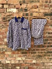 Vintage 60's 70's St Michael Brushed Cotton Paisley Men's Pyjamas Medium M Mod