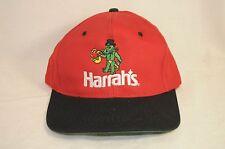 Vintage Harrah's Casino Adjustable Snapback Truckers Hat Cap Alligator Saxophone