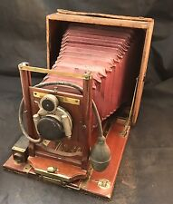 R.O. & Co Rochester Optical Pony Premo No.6 Mahogany Wood 4x5 Lg format Camera