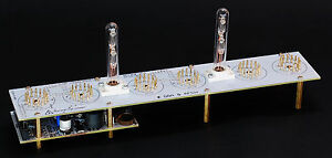IN-18 Nixie Tube Clock [4, 6, 8 Tubes Boards] [NO TUBES] 12/24H SlotMachine