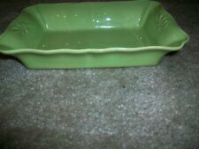 "Arenito Made in Portugal Green 10"" X 7"" Stoneware Baking Dish Rectangular"