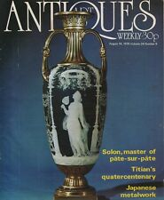 ART & ANTIQUES WEEKLY (14 August 1976) JAPANESE METALWORK - SOLON - TITIAN