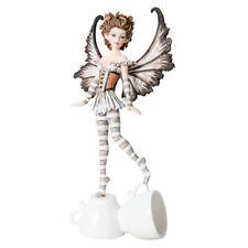 Espresso Fairy Figurine Faery Amy Brown teacup faerie coffee cup mug statue