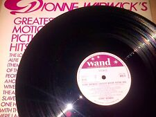 Dionne Warwick's Greatest Motion Picture Hits - Vinyl LP (Ex)