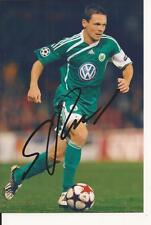 VFL WOLFSBURG* SASCHA RIETHER SIGNED 6x4 ACTION PHOTO+COA