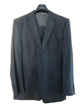 Wilvorst Prestige Hochzeit Anzug 54 3 tlg. Hose Weste Jacket Streifen GRAU TOP