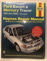 Ford Escort & Mercury Tracer 1991 thru 2002 Haynes Repair Manual # 36020