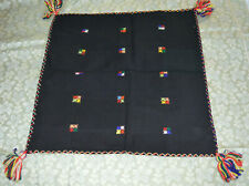 RARE GREEK ANTIQUE 1920,HAND MADE PILLOWCASE 51cmX51cm HAND SEWED & EMBROIDERED