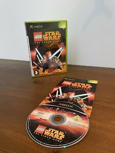 LEGO STAR WARS THE VIDEO GAME - XBOX GAME / XBOX 360 - ORIGINAL & COMPLETE
