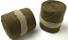 WWI BRITISH WOOL PUTTEES LEG WRAPS-12 FEET