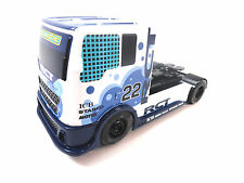 Scalextric Blue & White #22 RCT Racing Truck DPR 1/32 Scale Slot Car C3610